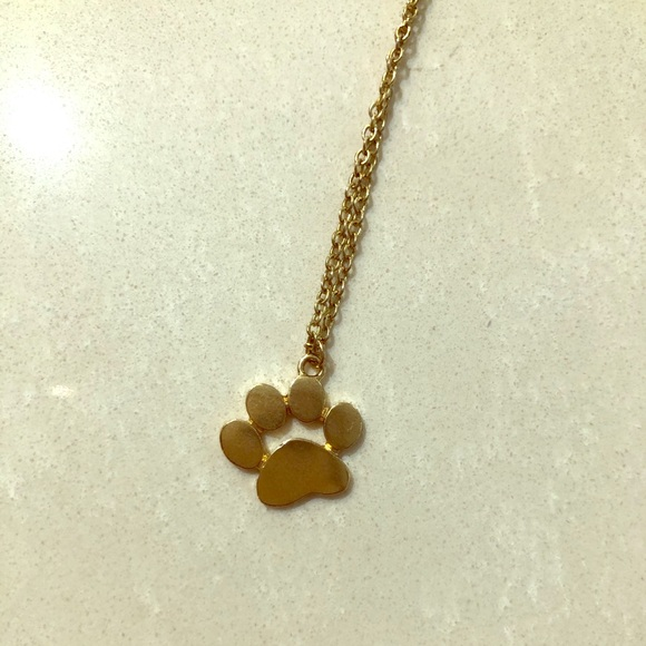 🐾free w/purchase🐾 paw print necklace